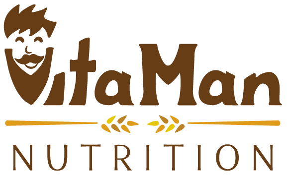 VitaMan logo by Miranda Williams
