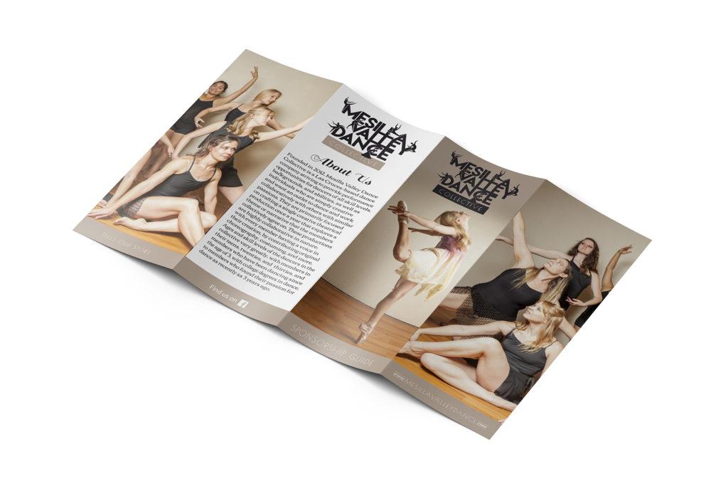 Mesilla Valley Dance Collective Brochure designed by Miranda Williams