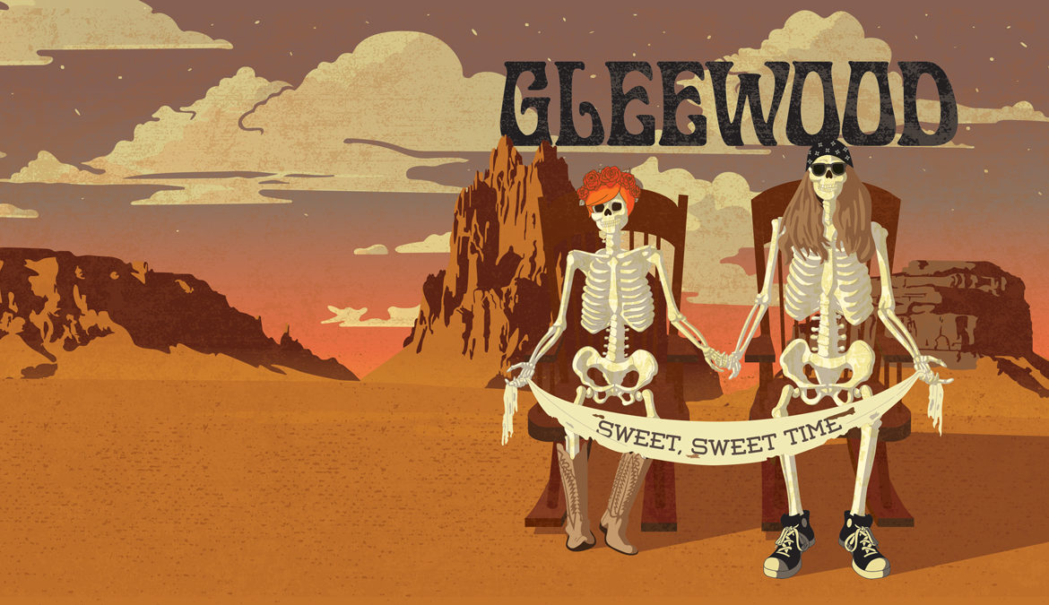 Gleewood Album Illustration by Miranda Williams