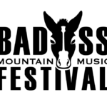 Badass Mountain Music Festival logo designed by Miranda Williams